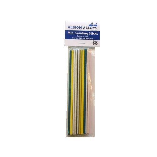 Flexifile Mini Sanding Sticks - Assorted