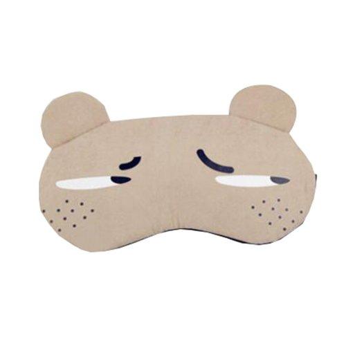 Block Out Lighting Cute Expression Eye Sleep Mask