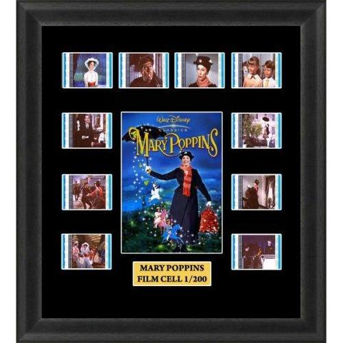 Mary Poppins Film Cells Memorabilia mounted & Framed