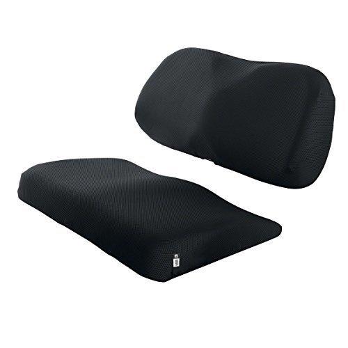 Classic Accessories Fairway Golf Cart Diamond Air Mesh Seat Cover - Black