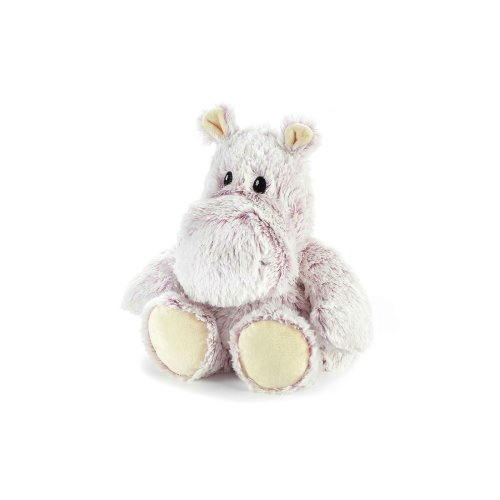 Warmies Hippo Marshmallow Heatable Plush Animal Microwaveable Soft Toy Cuddly