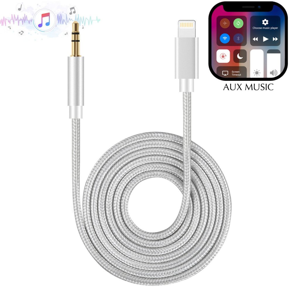 promo code 414f0 e2409 Aux Cable Compatible with iPhone X, HUIRID iPhone XS iPhone 8 Car AUX Cable  to 3.5mm iPhone Aux Adapter for iPhone XS/XS Max/X/8/8...