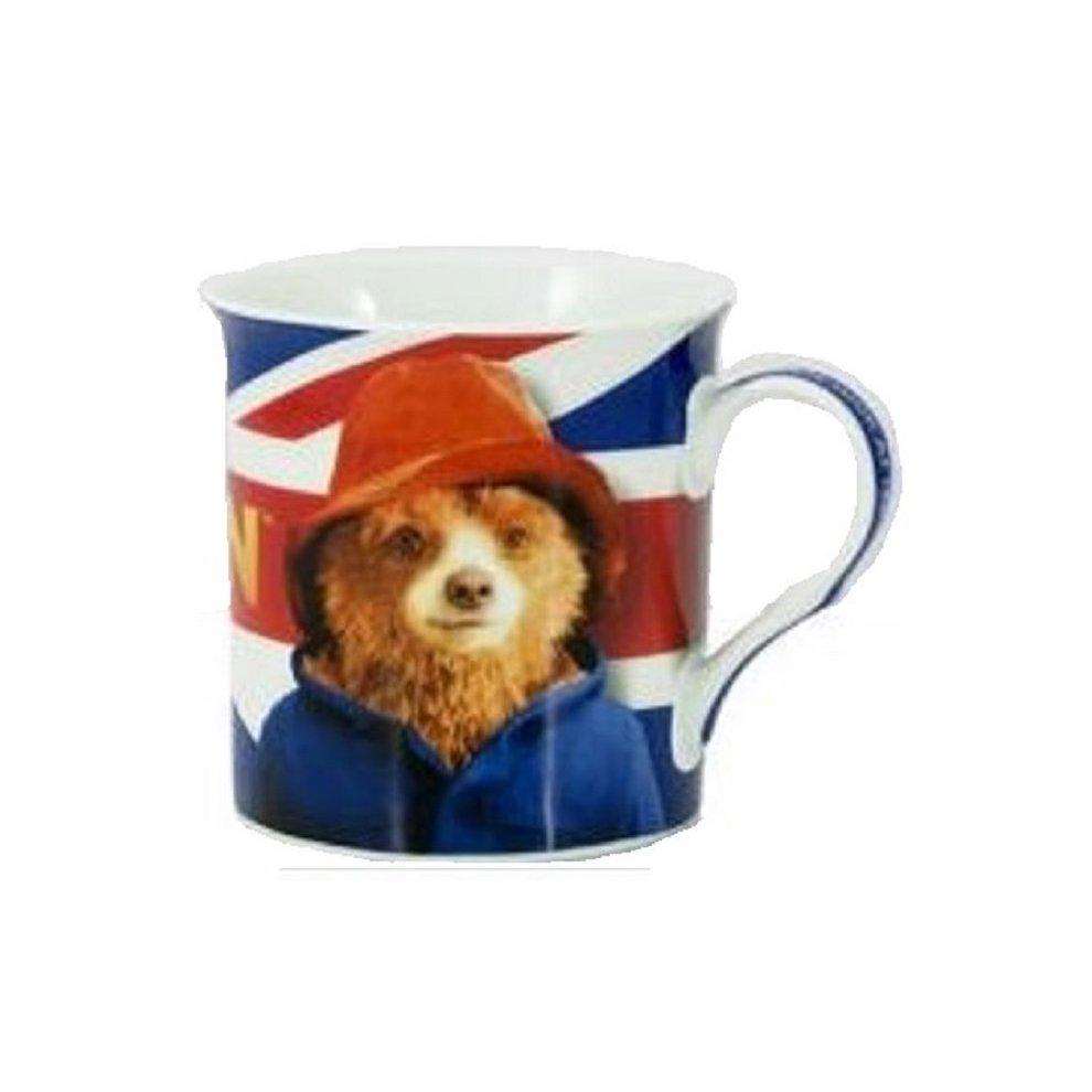 Official Paddington Bear Movie Mug Cup Bone China Licenced Merchandise  Union Jack Flag