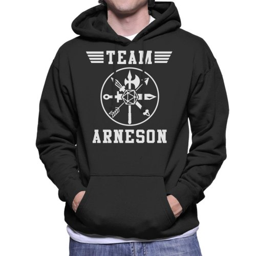 Dungeons And Dragons Team Arneson Men's Hooded Sweatshirt
