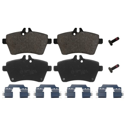 febi bilstein 16807 brake pads with add-on material (Set of 4) (front axle)
