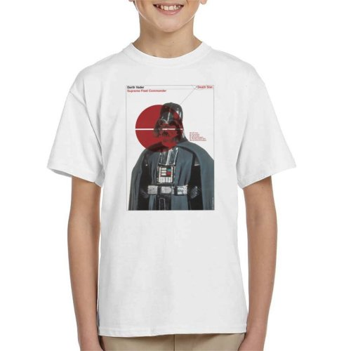 Star Wars Darth Vader Supreme Fleet Commander Kid's T-Shirt