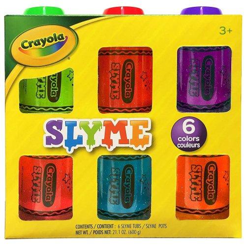 Crayola - 6 Pack Sparkle Slyme