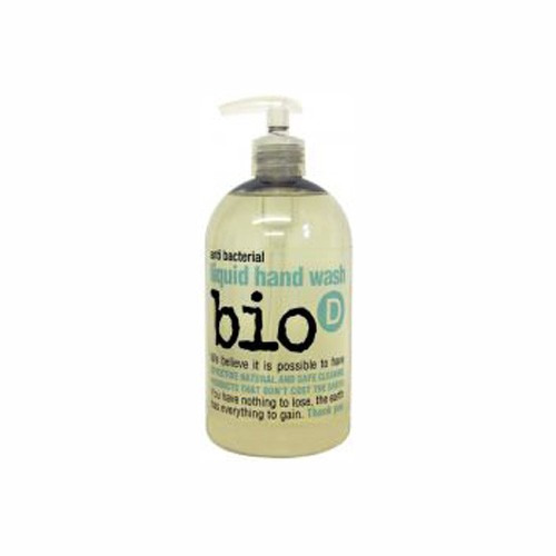 Bio-d Sanitising Lime and Aloe Hand Wash 500 Ml