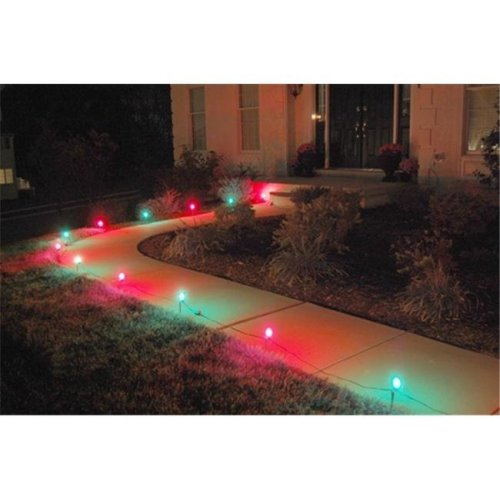 JH Specialties 61110 10- Count Pathway Lights- Red and Green