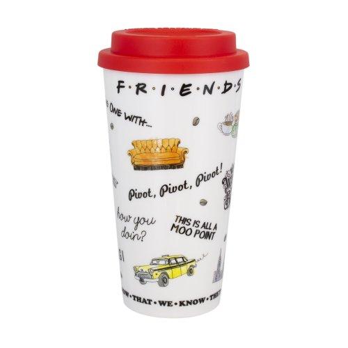 Friends Travel Mug | Reusable Friends Coffee Cup