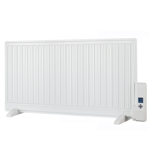 (1000w) Celsius Slim Oil-Filled Electric Radiator Thermostat & Timer, Wall Mounted / Portable