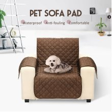 One Seater Waterproof  Dog Cat Sofa Cover  Couch Protector