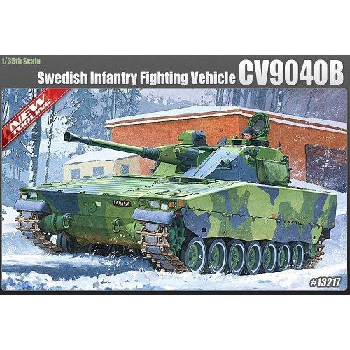 Aca13217 - Academy 1:35 - Swedish Cv9040b Infantry Fighting Vehicle