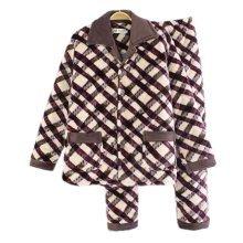 Men Pajamas Warm Thick Cotton Modern Set Sleepwear/Nightwear Clothes for Home, #No.1