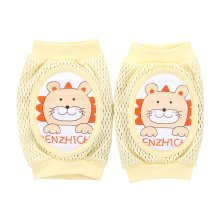 Cute Cotton Mesh  Baby Leg Warmers Knee Pads/Protect-Lion