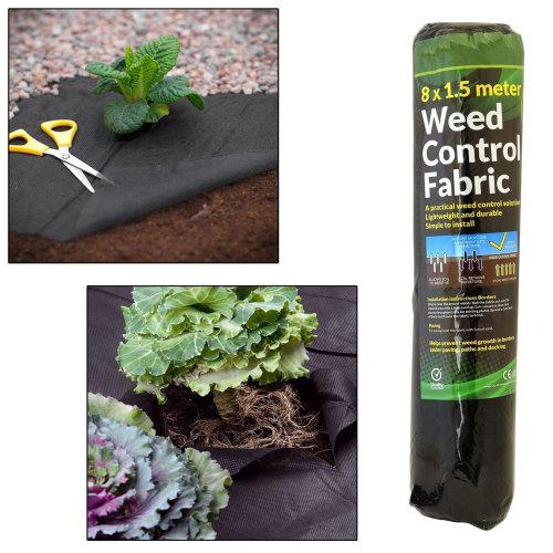 8 m x 1 m Weed Control Fabric