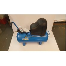 Abac Montecarlo 020P 50 litre Oil Free Compressor with wheels