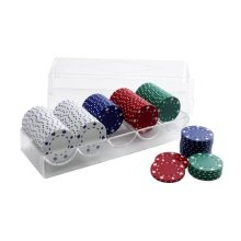 Super Heavy Poker Chips In Storage Box - Set 100 (11.5g) -  super heavy poker chips storage box set 100 115g