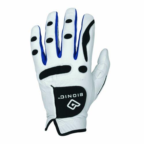 Bionic Men's PerformanceGrip Left Hand (Right Handed Golfer) Golf Glove - White, X-Large