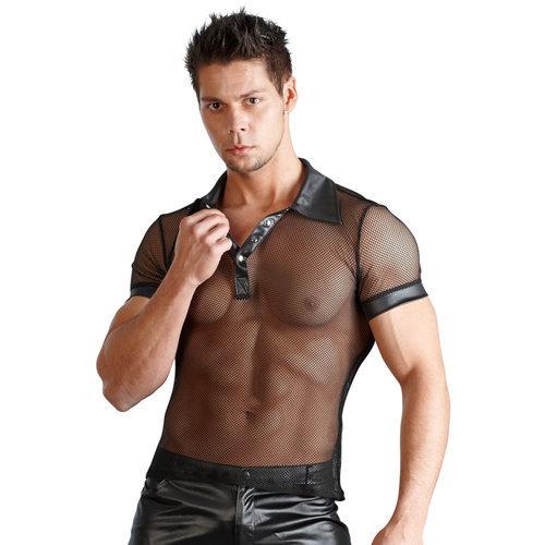 Men's shirt Wetlook Medium Men's Lingerie Shirts - Svenjoyment Underwear