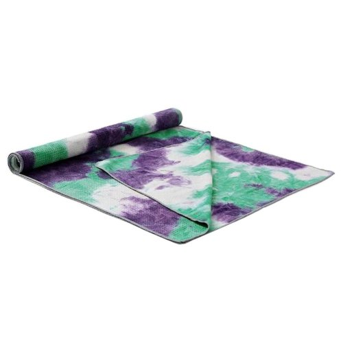 [V] Non-Slip Yoga Towel Sweat Absorbent Yoga Mat Towel Yoga Blanket