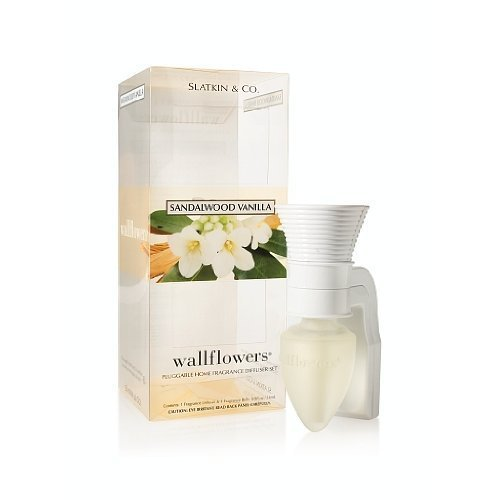 Bath and Body Works Slatkin & Co Sandalwood Vanilla Wallflower Pluggable Home Fr