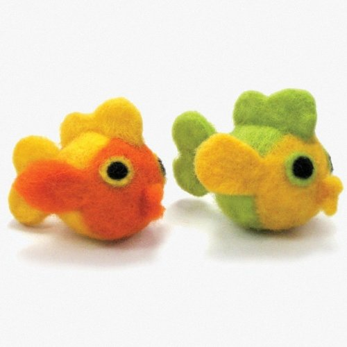 D72-73902 - Dimensions Needle Felting - Round & Wooly: Fish