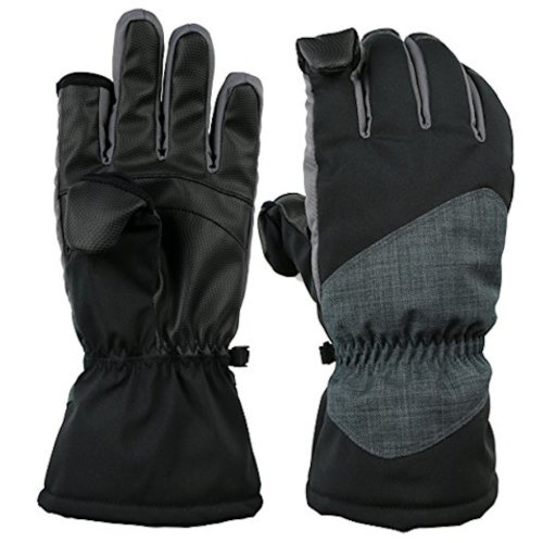 Thermolite Photography Fold Back Fingertip Gloves