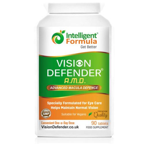 Vision Defender AMD Macular Degeneration Supplements - 90 Tablets