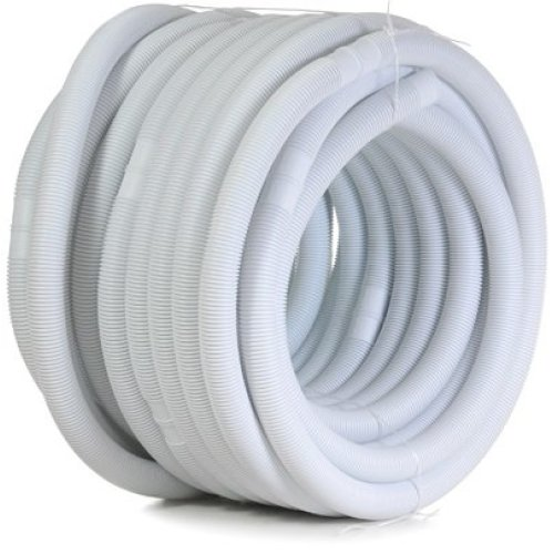 "Swimmer 1.5"""" x 36 Metre Roll Swimming Pool Vacuum Hose Cuffed - Every 1.5 Metre"