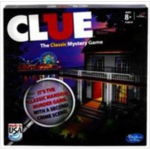 Hasbro A5826 Clue The Classic Mystery Game Refresh