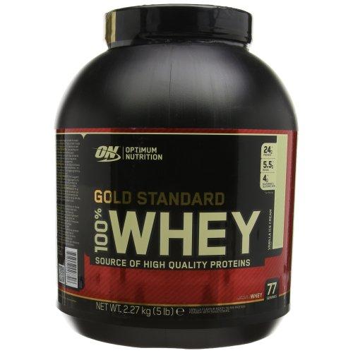 Optimum Nutrition Gold Standard 100% Whey Protein Powder 2.27 kg VanillaIceCream