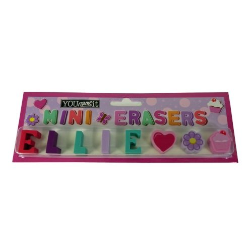 Childrens Mini Erasers - Ellie