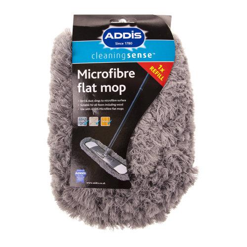 Addis Replacement Microfiber Flat Mop Head