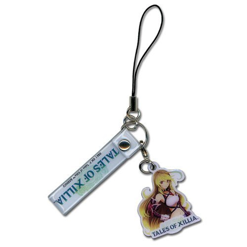 Cell Phone Charm - Tales Of Xillia - New Milla Metal Anime Licensed ge17219