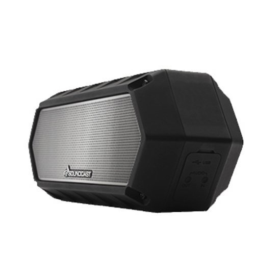 Soundcast VG1 Premium Bluetooth Waterproof Speaker Shock Resistant Dynamic Full Range Bass Stereo Pair Works with