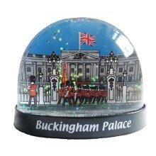 Buckingham Palace Small Snow Globe Storm London Souvenir Gift UK GB Glitter