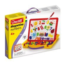 Quercetti Magnetino Carry On Number Magnetic Kit - Numbers Movie -  magnetino numbers movie