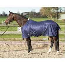 Harry's Horse 32205024215cm Fly Blanket Mesh Standard with Straps, XL, navy
