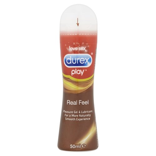 Durex Real Feel Lube 50ml Gel Bot Lubricant