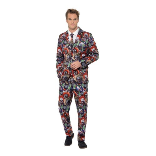 Evil Clown Stand Out Suit Costume