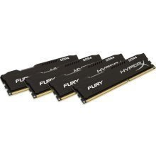 HyperX 32Gb (4x8Gb) Fury Black DDR4 2400MHz CL15 Kit