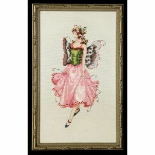Pixie Couture Collection Rose Counted Cross Stitch Chart Pattern