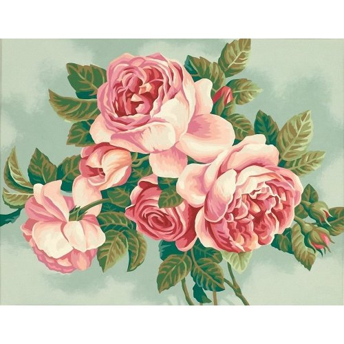 Dpw91299 - Paintsworks Paint by Numbers - Heirloom Roses