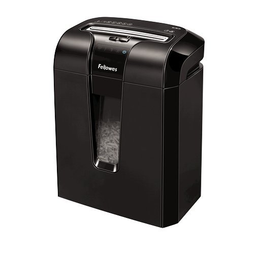 Fellowes 63Cb Cross shredding Black paper shredder