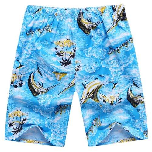 Quick-Drying Summer Men's Casual Pants Sports Pants Loose Pants Beach Pants