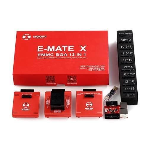 E-Mate X 13 in 1 BGA eMMC Chip Reader Writer