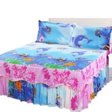 Luxurious Durable Bed Covers Multicolored Bedspreads, #15