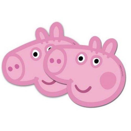 6 Peppa Pig Masks