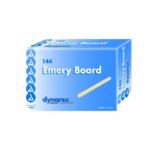 Dynarex Emery Boards 144 Count (Pack of 2)